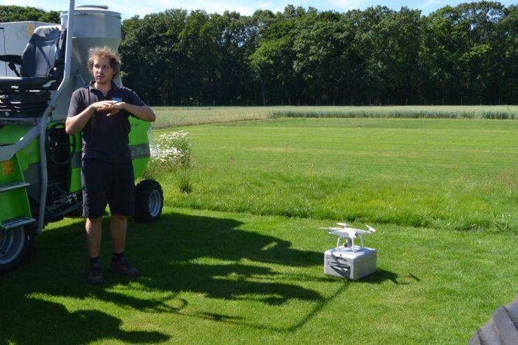 Thijs van Barenbrug vertelt over het gebruik van drones.