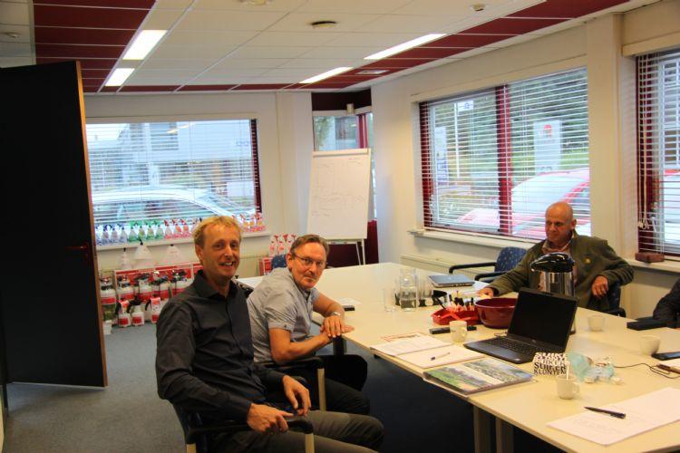 V.l.n.r.: Peter Laan, Willem van Duijn en Gerrit Klop