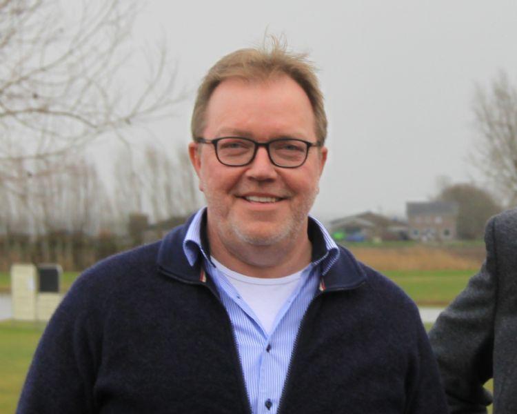 Hans Schaap gaat positief gestemd het nieuwe jaar in met HGM en Golfbaan Almkerk.