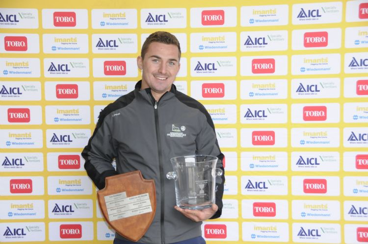 Tom Maddison werd in december verkozen tot Greenkeeper of the Year 2020.