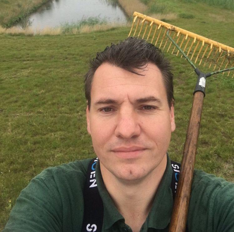 Jiry de Waal, adviseur biologisch waterbeheer