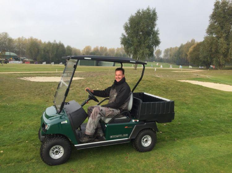 Marijn Brouwer bij Golfcentrum Reymerswael te Rilland