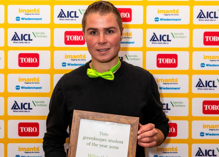Wilco Oskam: winnaar Toro Greenkeeper Student of the Year 2019