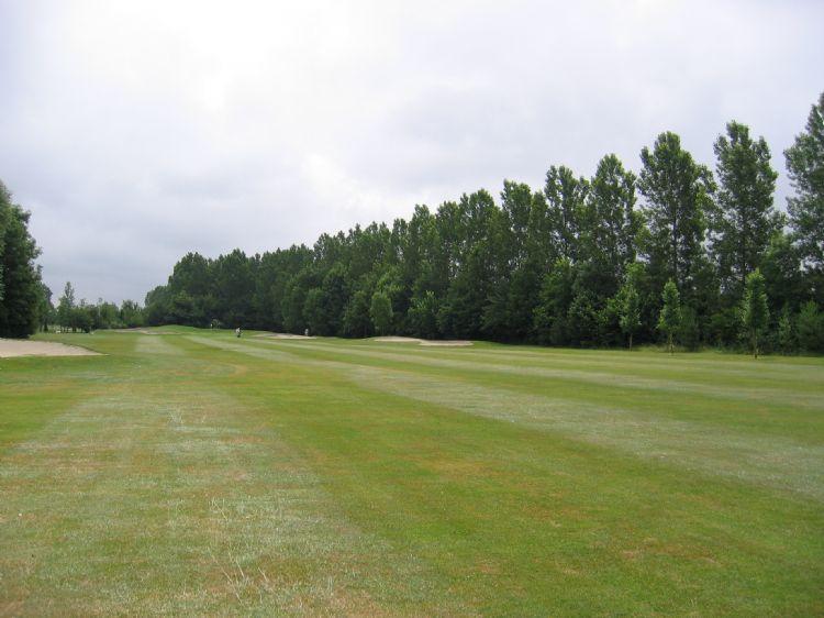 Een archieffoto van golfdomein Brugse Vaart in Oostburg.