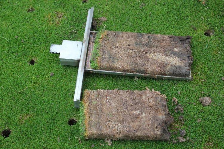 Greens zijn relatief arm aan bodemleven