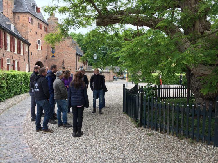Praktijkdag 'groeiplaats en snoei veterane bomen' bij kasteel Doorwerdt