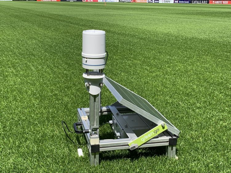 Green-Go-weerstation, voor elk plekje van het veld of de baan