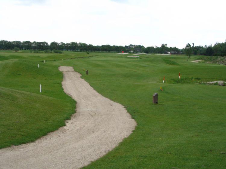 Een archieffoto van golfbaan Echt-Susteren.