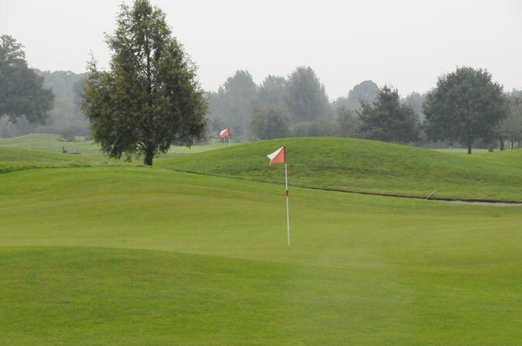 Archieffoto van golfbaan Amelisweerd.