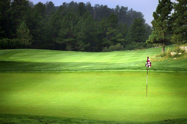 Voorlopig zien we geen activiteit op Nederlandse golfbanen.