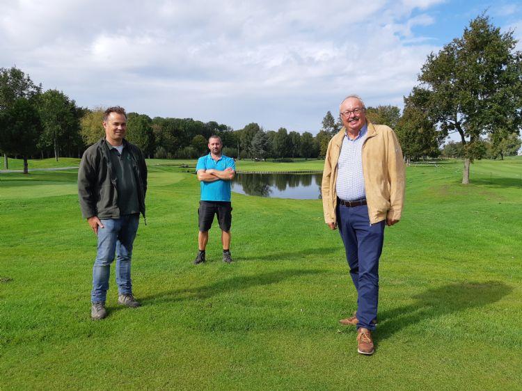 Johan Oosthoek, Leon van Dijk en Hans Leeuwenkamp