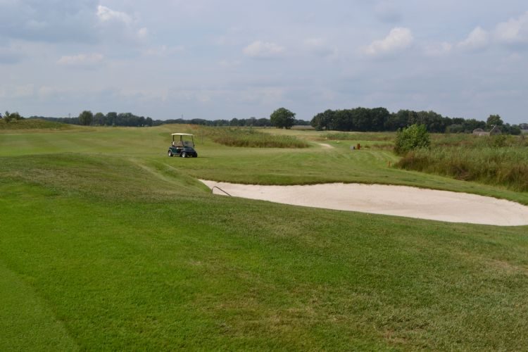 Foto van Golfbaan het Woold in 2013.