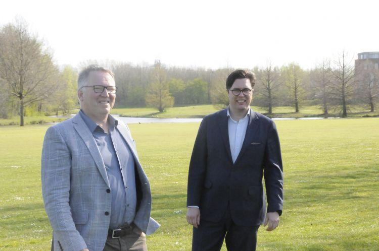 Ian Ouwerkerk en Geert Frommé