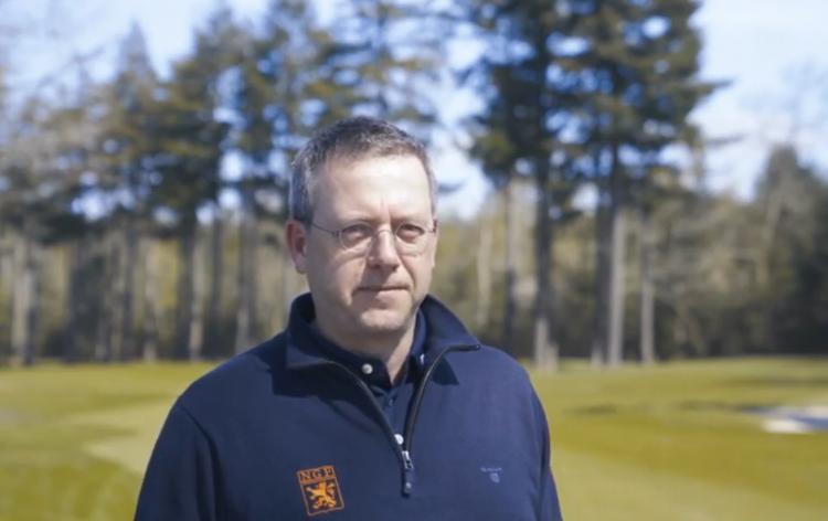 Jeroen Stevens, directeur NGF en golf.nl
