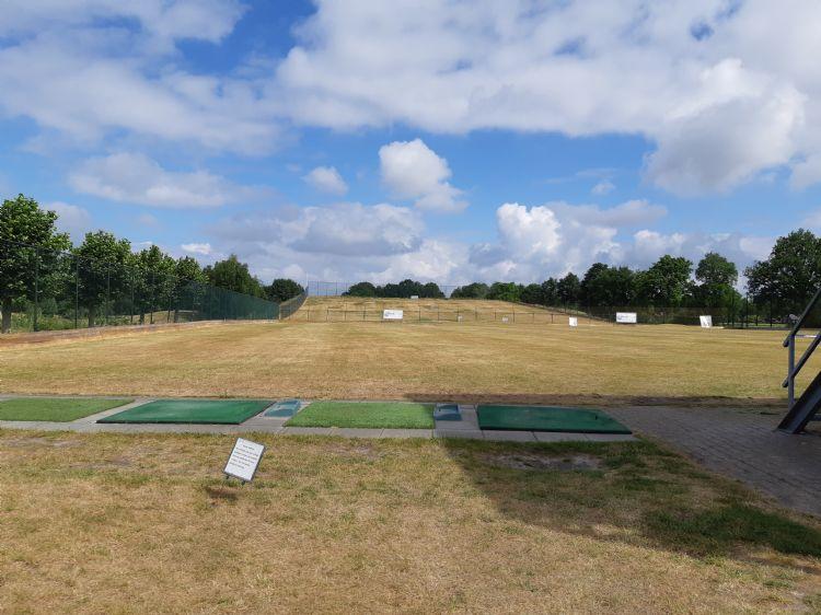 Driving range van de Golfhorst. Foto uit artikel Team in Beeld Greenkeeper 3 2020