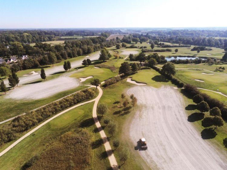 Drone-foto van Amelisweerd. Foto: Murezzan van Son
