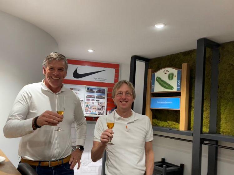 Dick Cluistra en Duco van Oosterhout