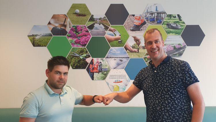 Nick Verbeet en Bart van Kollenburg